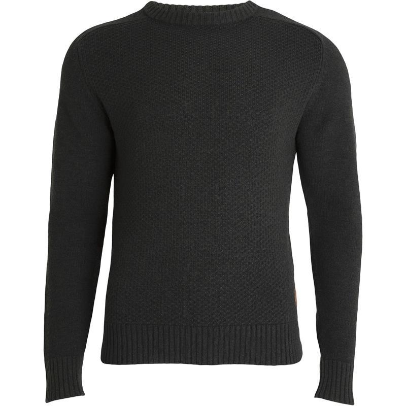 Tufte Bambull Blend Sweater S Deep Forest Melange - unisex