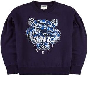 Kenzo Tiger Sweatshirt Marinblå 2 år