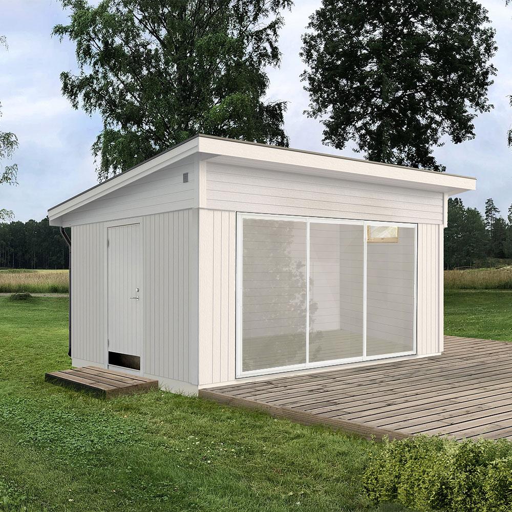 Anneks Roligheten 15 m² Optimal, Hvit