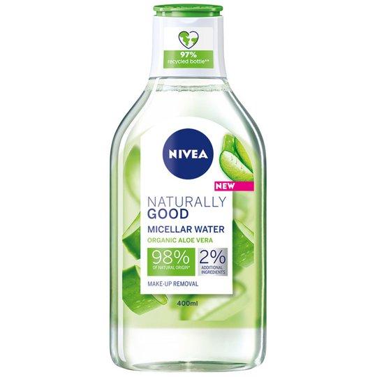 Naturally Good Micellar water, 400 ml Nivea Meikinpoistoaine