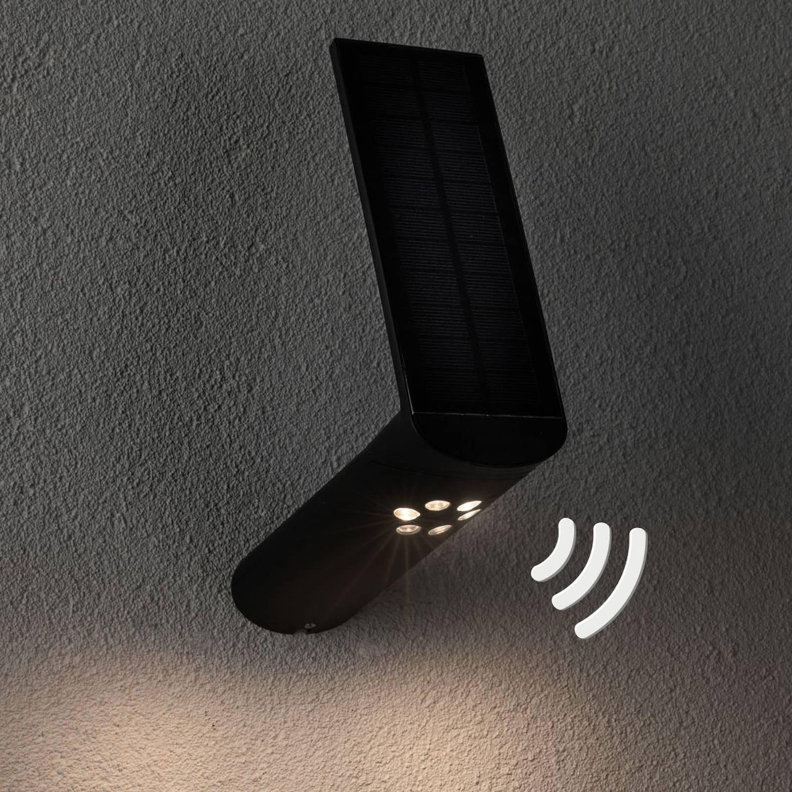 Paulmann LED-ulkoseinävalo Ilias, antrasitti