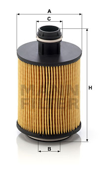 Öljynsuodatin MANN-FILTER HU 712/11 x