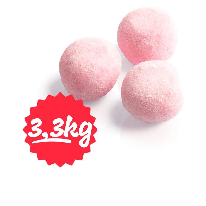 """Laatikollinen """"Strawberry Soft Bite"""" Makeisia 3250g - 67% alennus"""