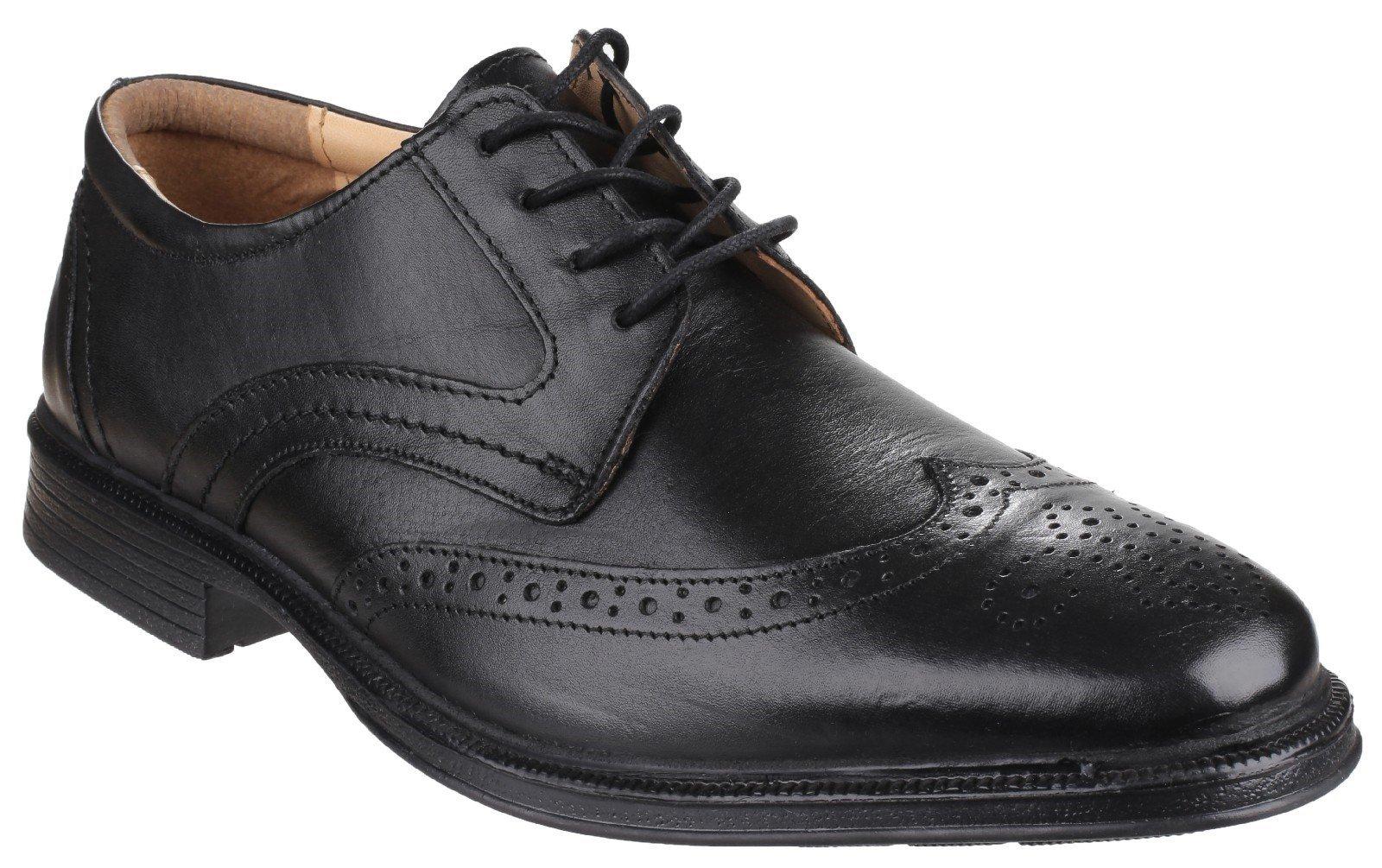 Cotswold Men's Mickleton Lace Up Derby Shoe Black 20300 - Black 6