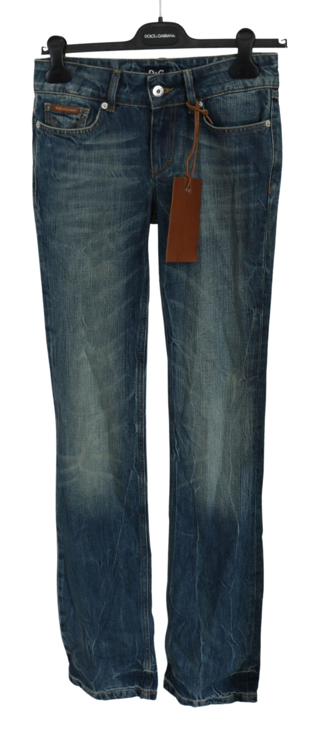 Dolce & Gabbana Women's Washed Low Waist Jeans PAN61021 - W24