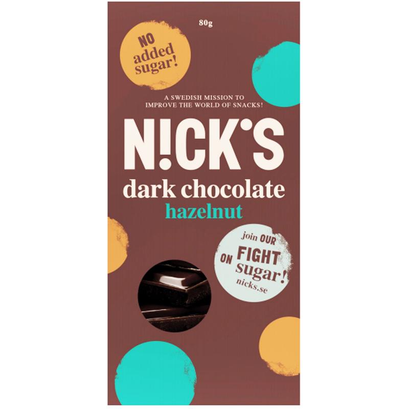 Mörk Choklad Hasselnötter 80g - 52% rabatt