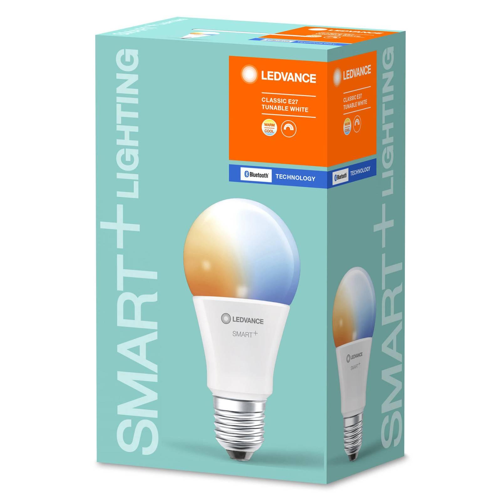 LEDVANCE SMART+ Bluetooth E27 LED Classic 9W CCT