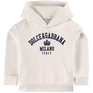 Dolce & Gabbana Milano Huvtröja Vit 6 år