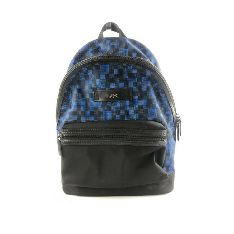 Michael Kors Women's Kent Camouflage Backpack Blue 93007