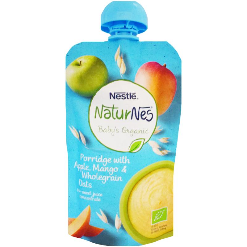 Eko Barnmat Gröt Äpple, Mango & Fullkornshavre - 23% rabatt