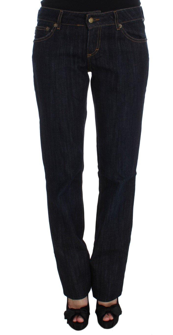 Cavalli Women's Cotton Straight Fit Stretch Jeans Blue SIG32384 - W34