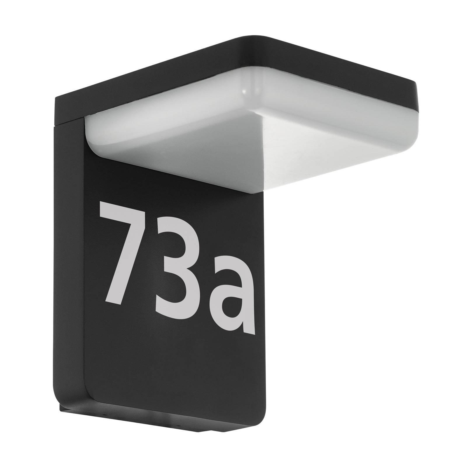 LED-husnummerlampe Amarosi