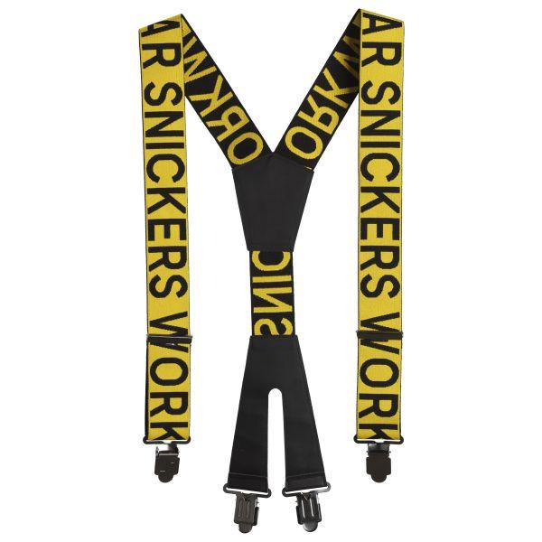 Snickers 9064 Henkselit Keltainen/musta