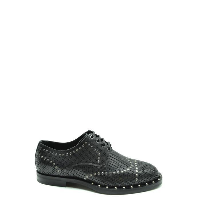 Dolce & Gabbana Men's Lace up Shoe Black 178772 - black 40