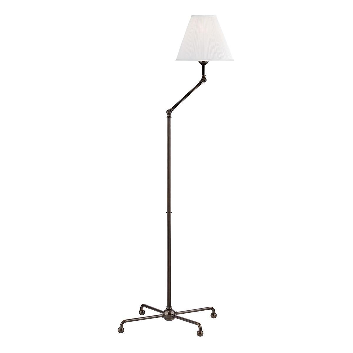 Hudson Valley I Classic No 1 Floor Lamp I Distressed Bronze