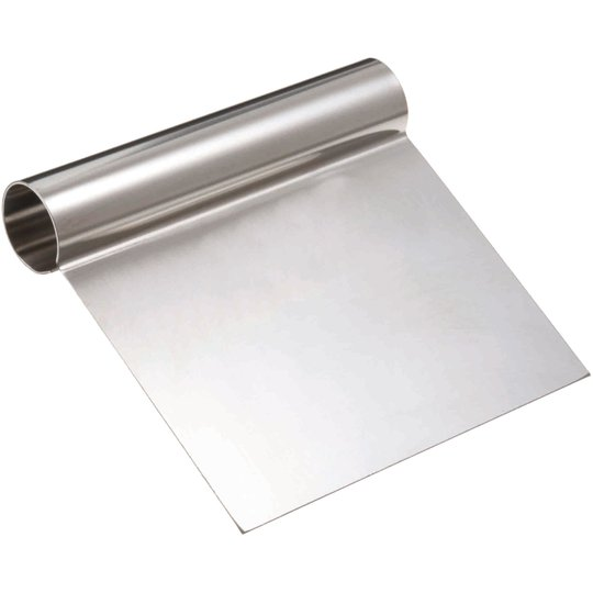 Silikomart Stål degskrapa 12 x 12 cm.