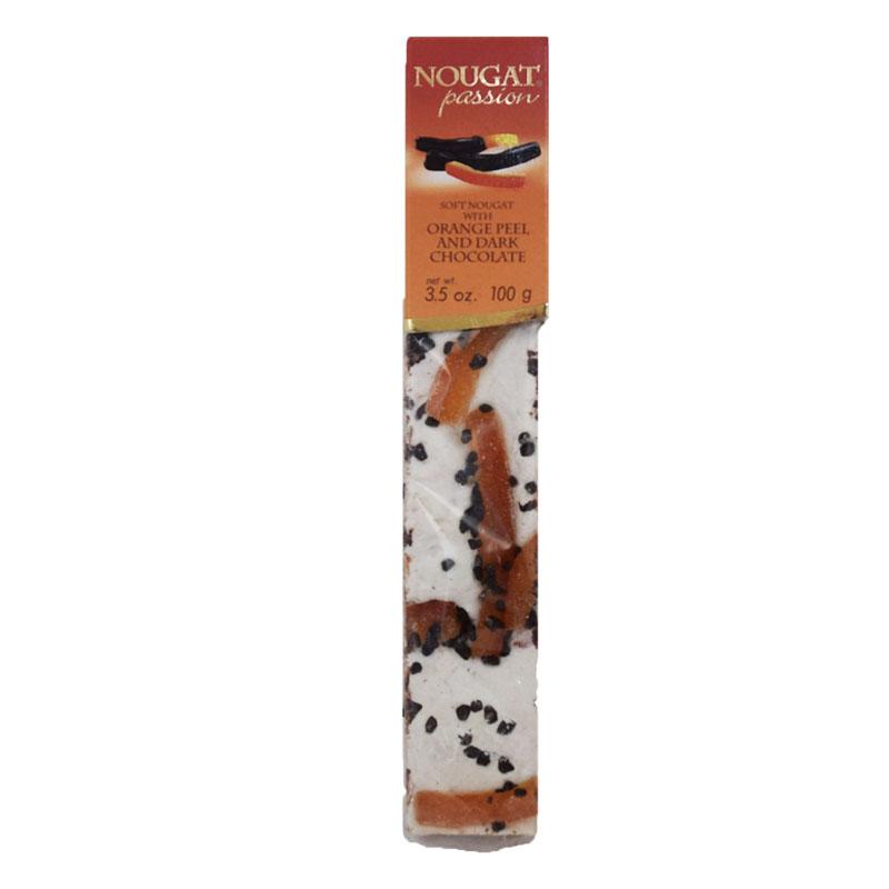 """Soft Nougat """"Orange Peel & Dark Chocolate"""" 100g - 60% rabatt"""