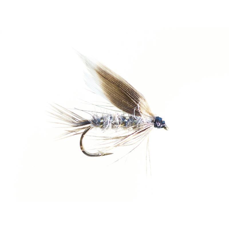 March Brown #12 - Enkelkrok Kjøp 12 fluer få gratis flueboks