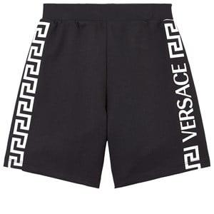 Versace Logo Shorts Svarta 5 år
