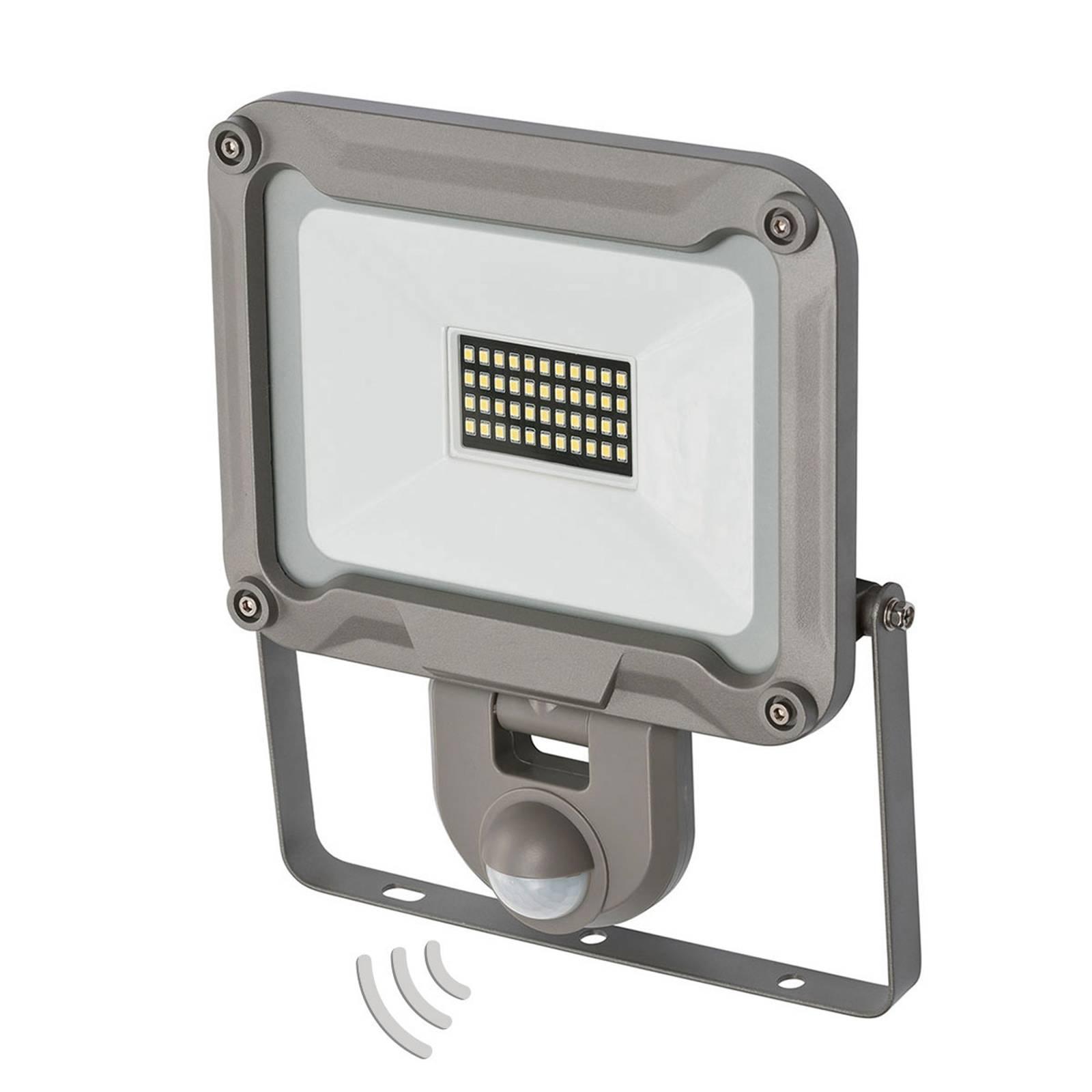 LED-ulkokohdevalaisin Jaro tunnistimella IP44 30W
