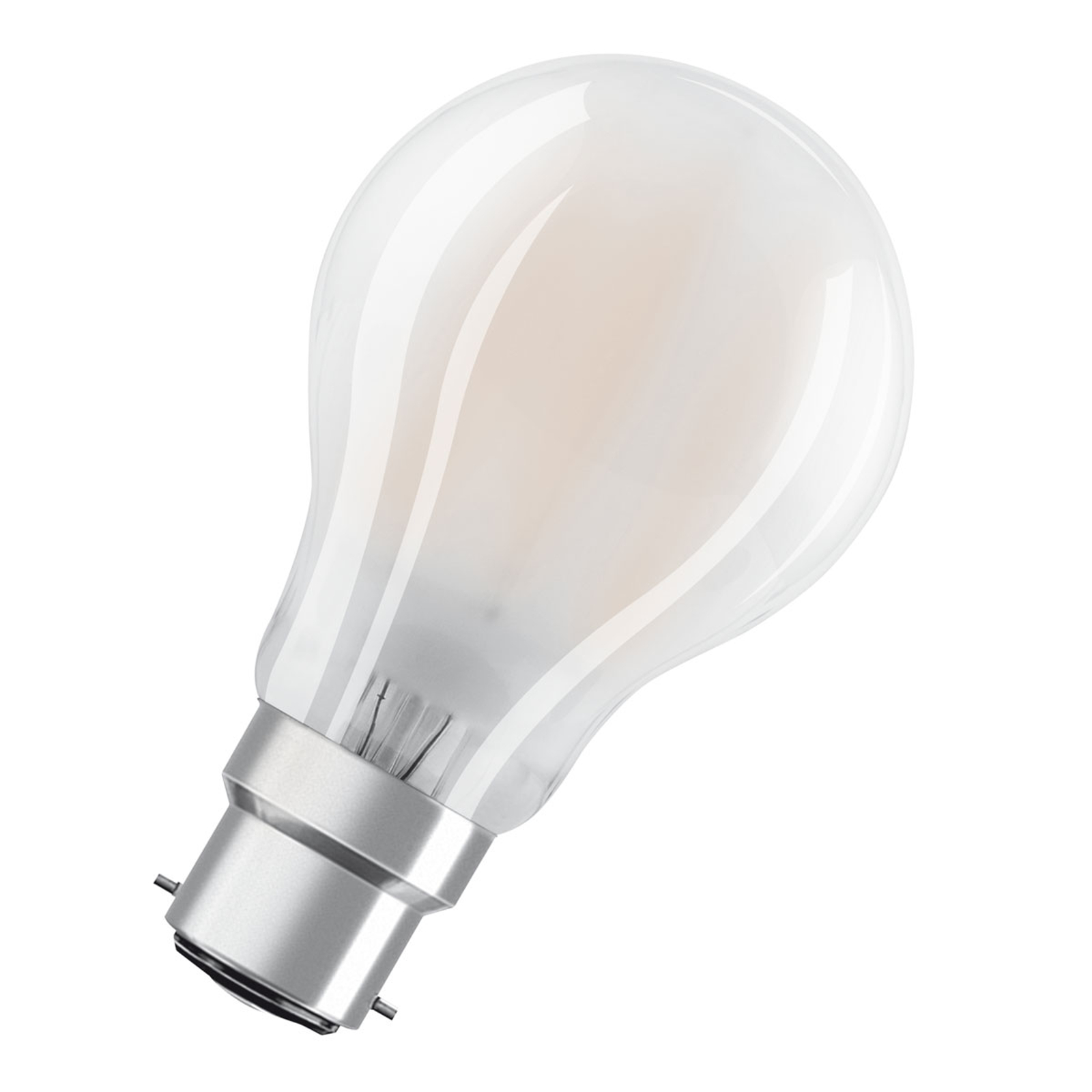 OSRAM B22d-LED-lamppu Superstar Retro 827 8,5W dim
