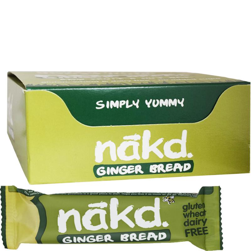Bars Ginger Bread 18-pack - 60% rabatt