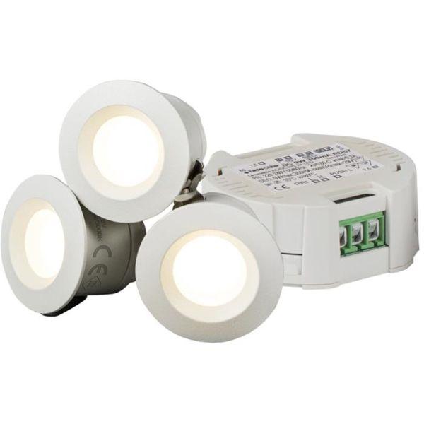 Hide-a-Lite Core Smart Downlightkit 45°, hvit, 2700 K