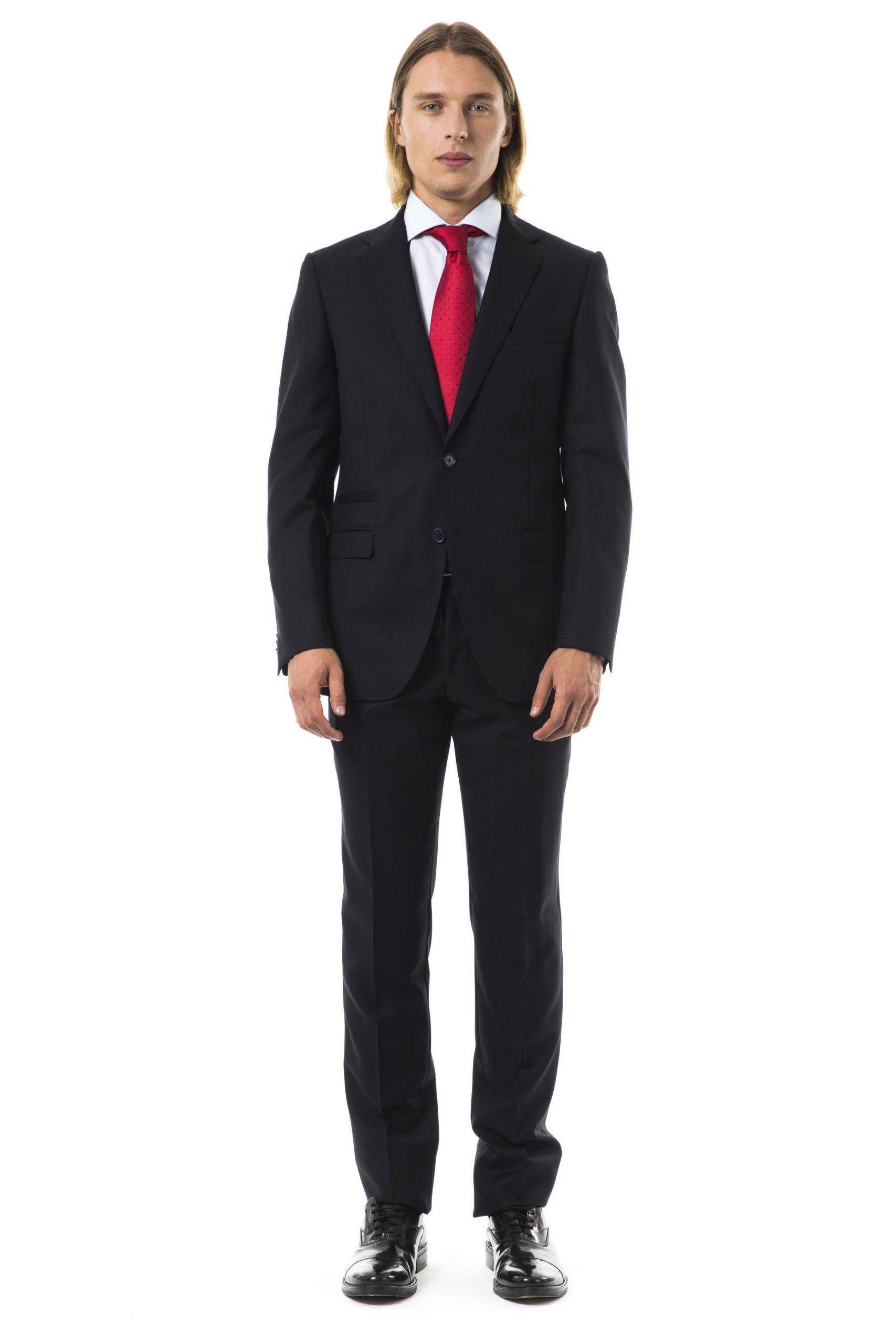 Uominitaliani Men's F Suit Gray UO997314 - IT50 | L