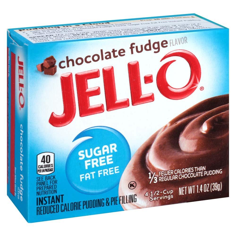 Jello Sugar Free Pudding Mix - Chocolate Fudge