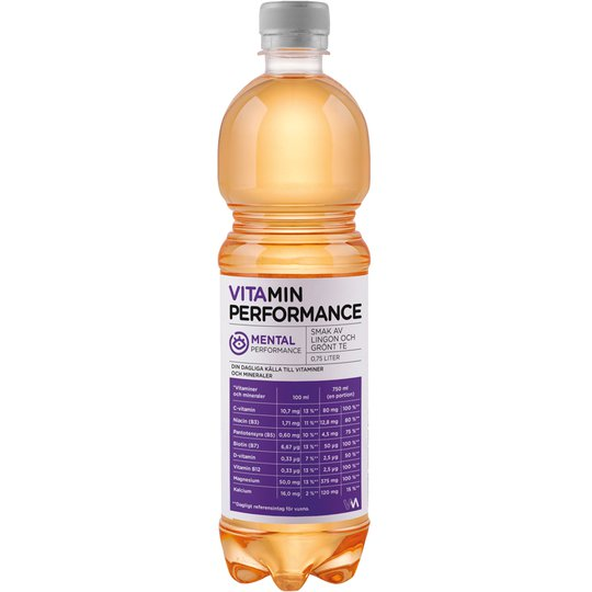 "Vitaminvatten ""Mental"" 75cl - 77% rabatt"