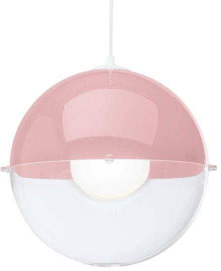 Koziol Taklampe Orion Gjennomsiktig, Rosa