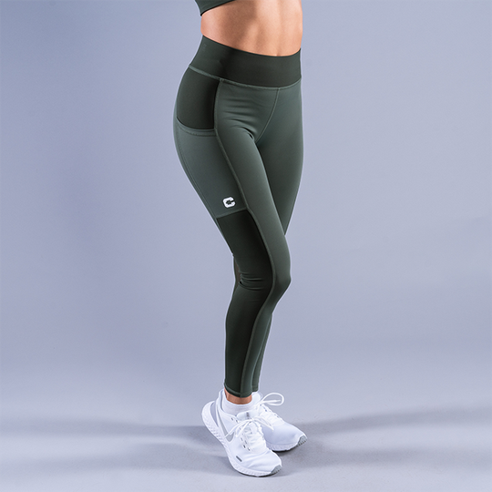 CLN Freedom ws Tights, Moss Green
