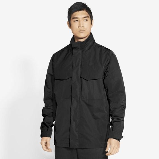 Nike M Nsw Pe Lnd Hd M65 Jackor BLACK/BLACK/BLACK