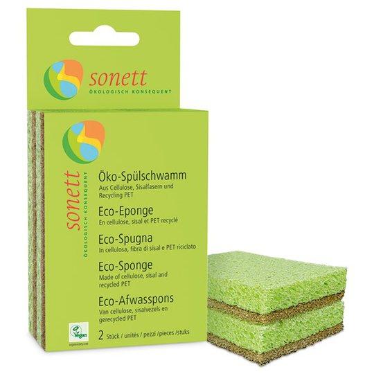 Sonett Eco Sponge Tvättsvamp, 2-pack