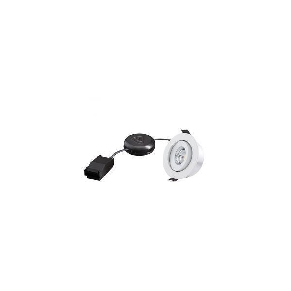 Designlight P-007MW27D Downlight 6,8 W, hvit 2700 K