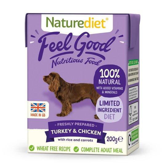 Naturediet Feel Good Kalkon & Kyckling (200 g)