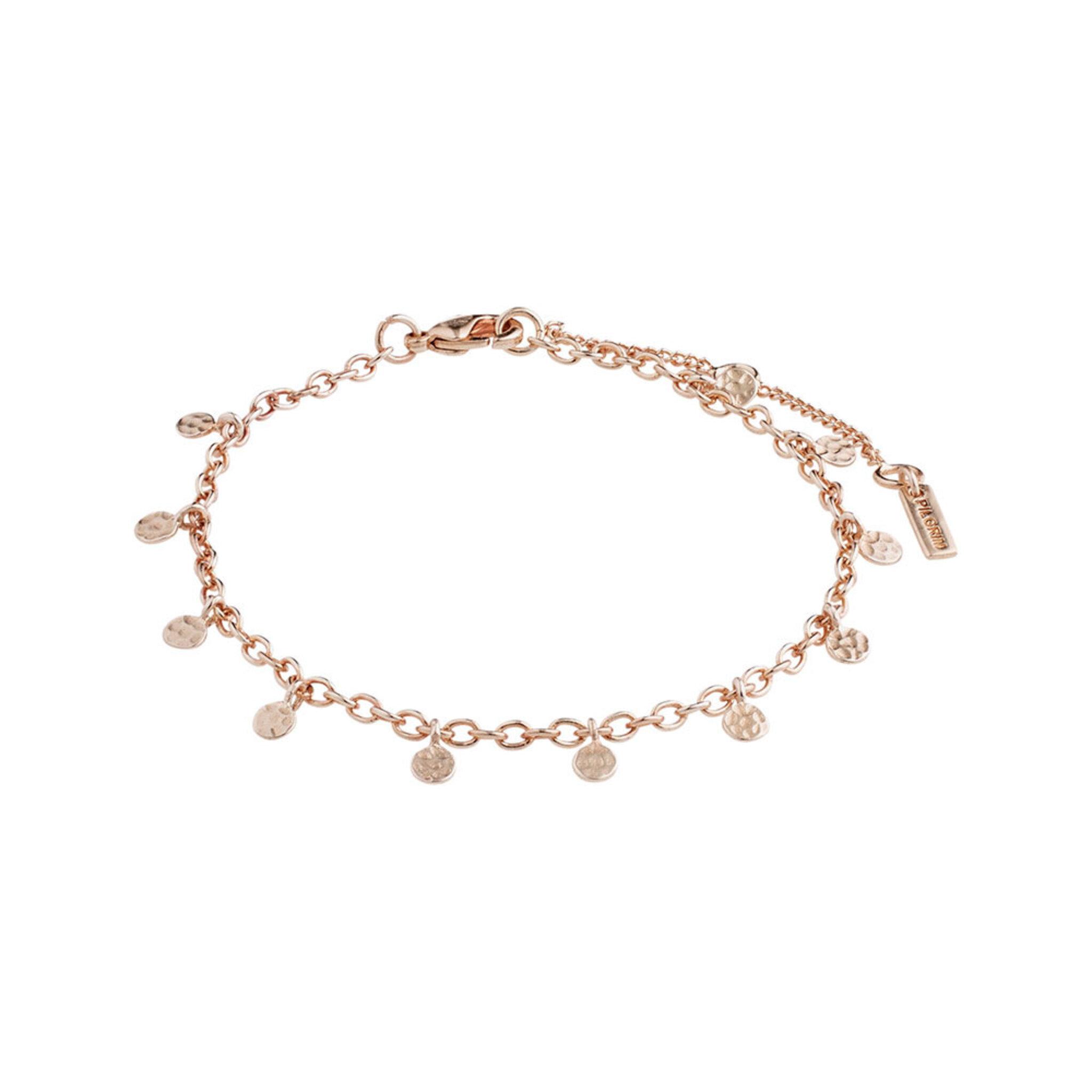 Bracelet : Panna : Rose Gold Plated, ONE SIZE