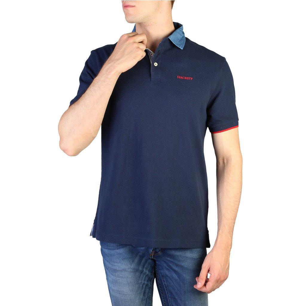 Hackett Men's Polo Shirt Blue HM562367 - blue M