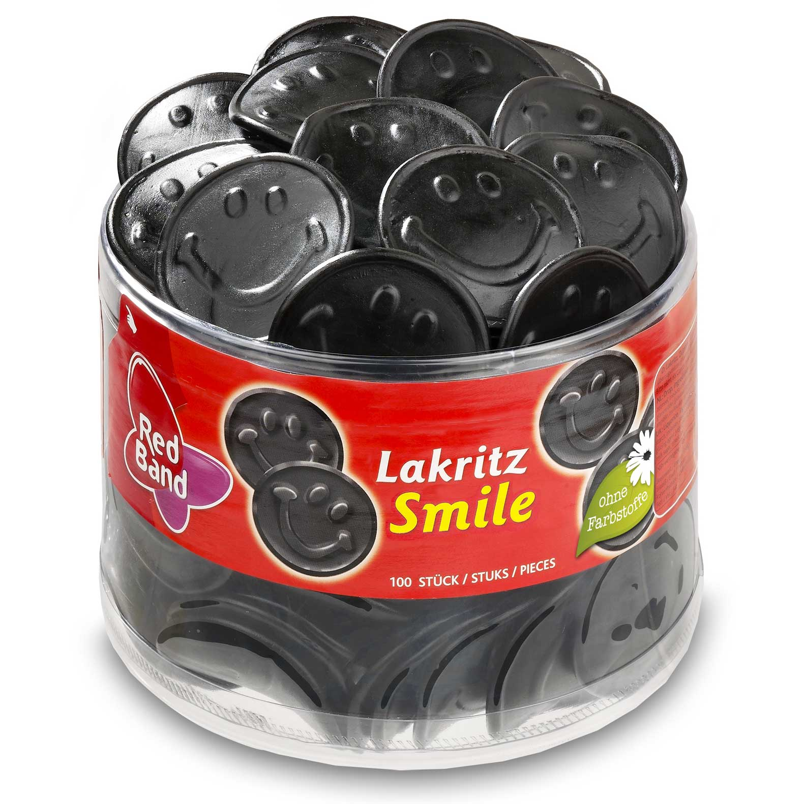 Red Band Smiley Lakrits 1.2kg