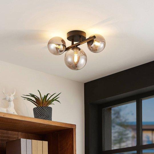 Lindby Simay taklampe, 3 lyskilder