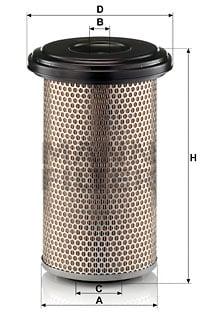 Ilmansuodatin MANN-FILTER C 20 325
