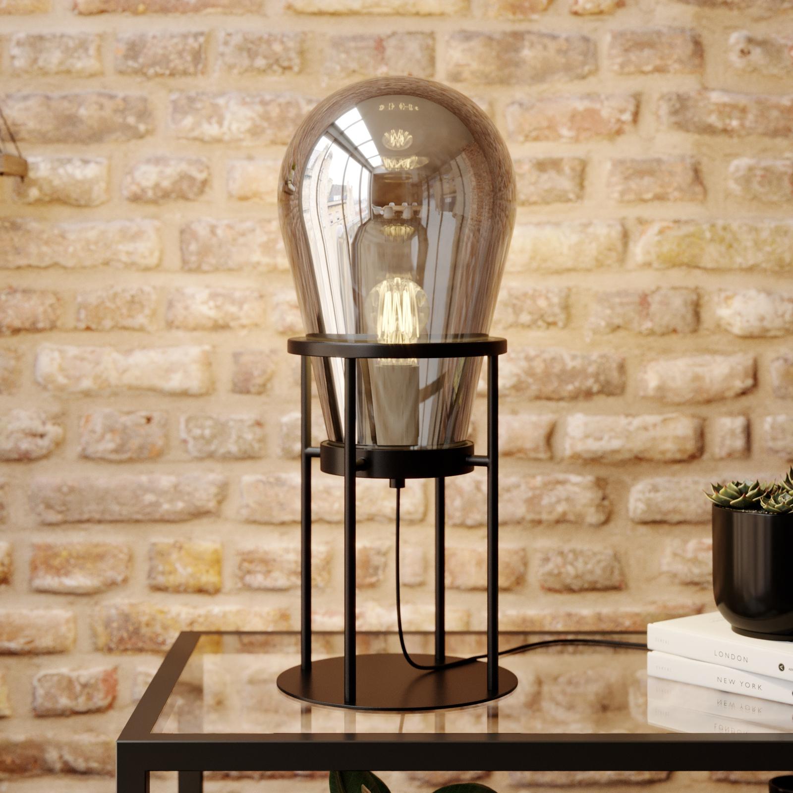 Lucande Viyan -pöytävalaisin lasia
