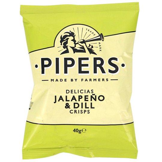 Chips Jalapeño & Dill - 61% rabatt