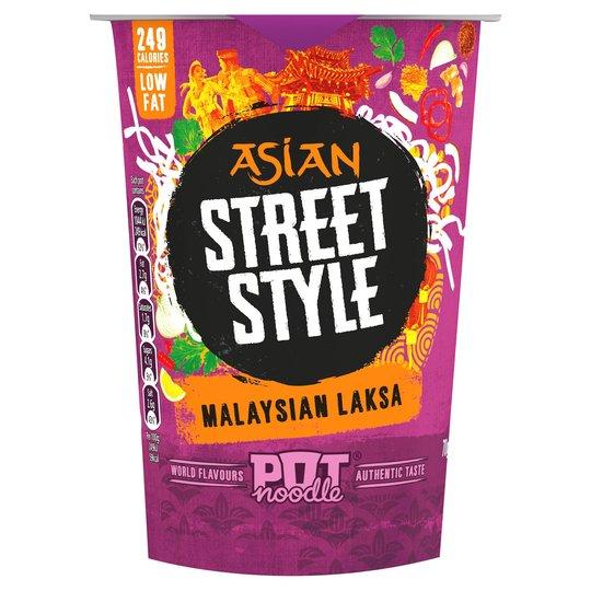 Pot Noodle Asian Street Style Malaysian Laksa 70g