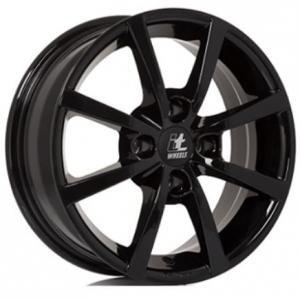 IT Wheels Alisia Gloss Black 6.5x16 4/100 ET40 B63.3