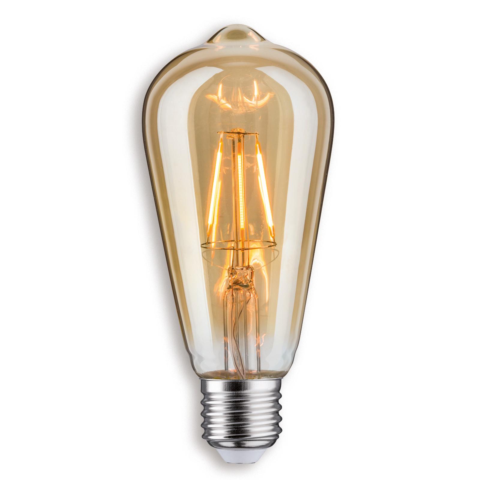 E27 4 W LED-rustiikkilamppu, kulta