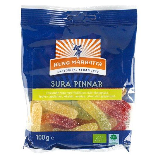 Kung Markatta Sura Pinnar, 100 g