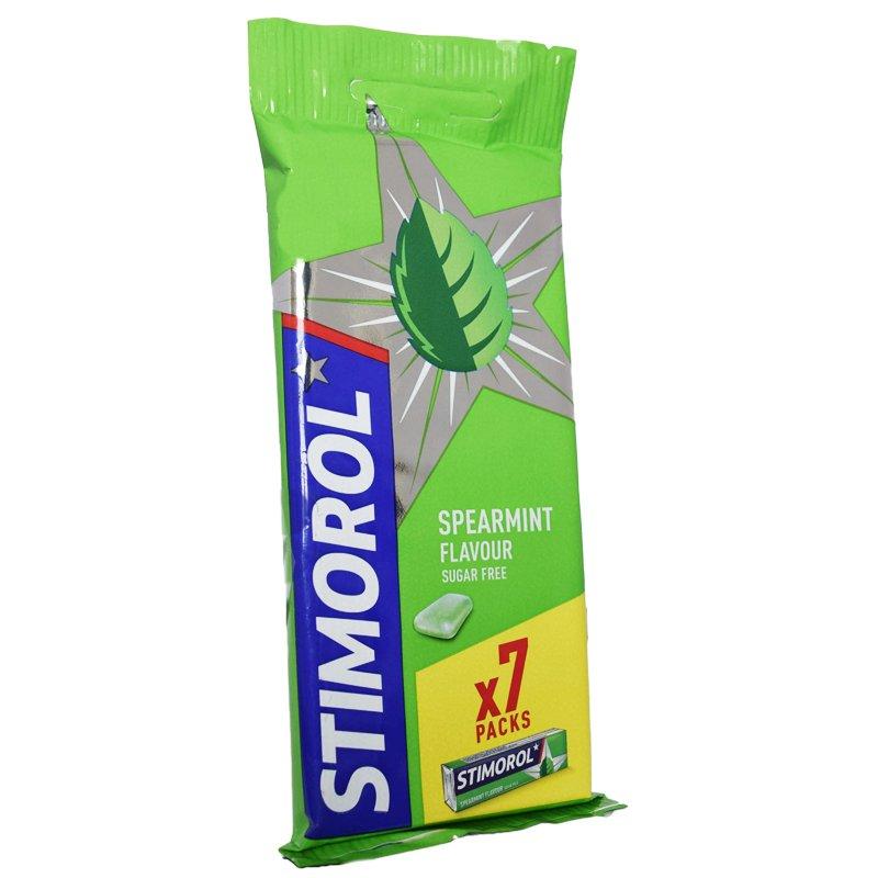 Tuggummin Spearmint 7-pack - 16% rabatt