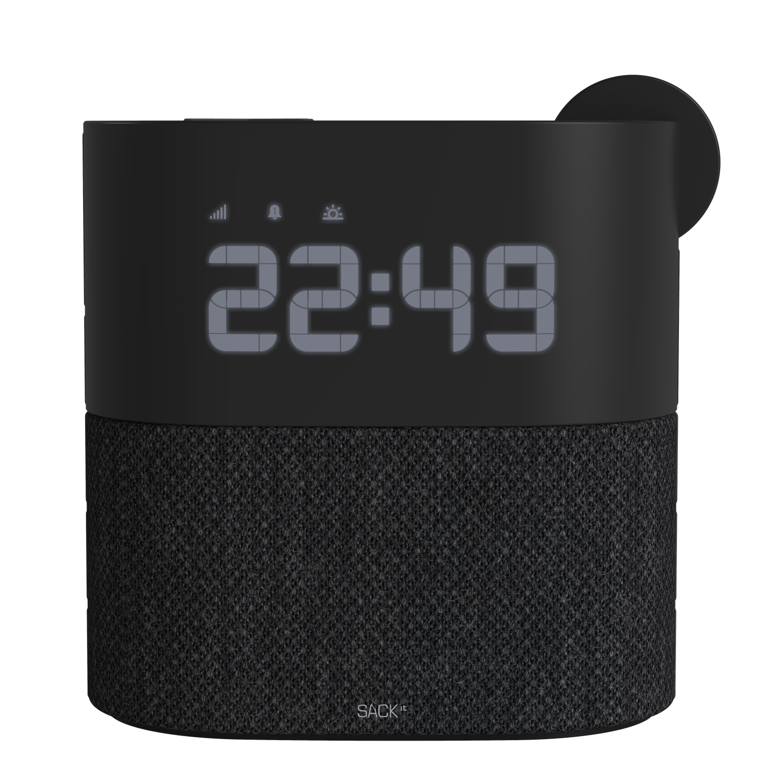 SACKit - WAKEit Clock Radio Black