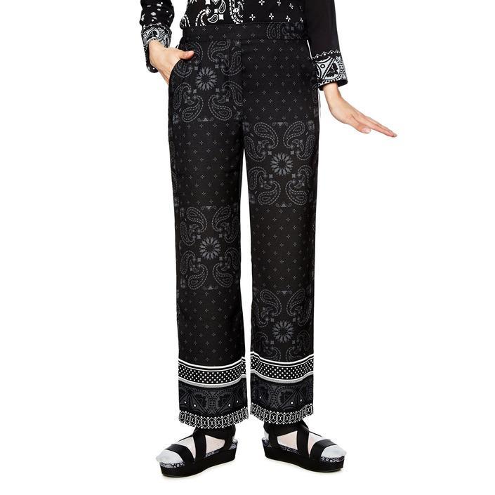 Desigual Women's Trouser Black 163838 - black 34